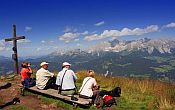 Walking holiday in the Austrian Alps