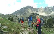 Guided walking holiday in the Languedoc-Roussillon