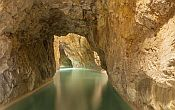 A view of the inside of thermal Cave Bath in Miskolctapolca