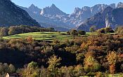 stunning view on landscape of the Picos de Europa