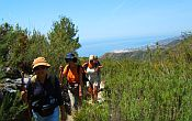 Group walking holiday in Spain