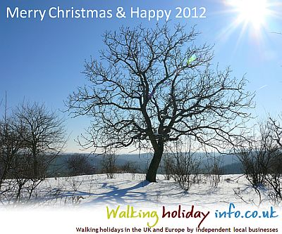 Merry Christmas & Happy 2012 from WalkingHolidayInfo