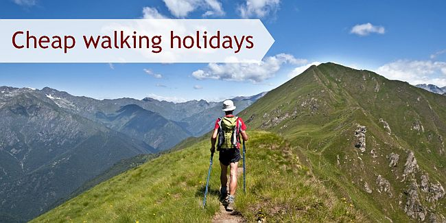 Cheap walking holidays