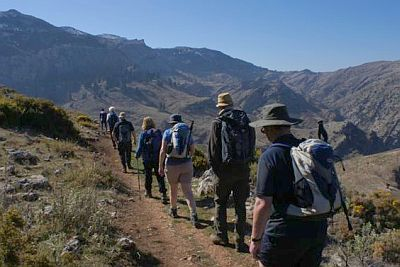 Few places left for Andalucian International Walking Festival