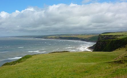 View on the coast near St Bees