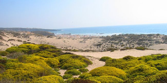 dune landscapes in Portugal