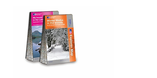 Christmas gift idea for walkers – a very special OS map!