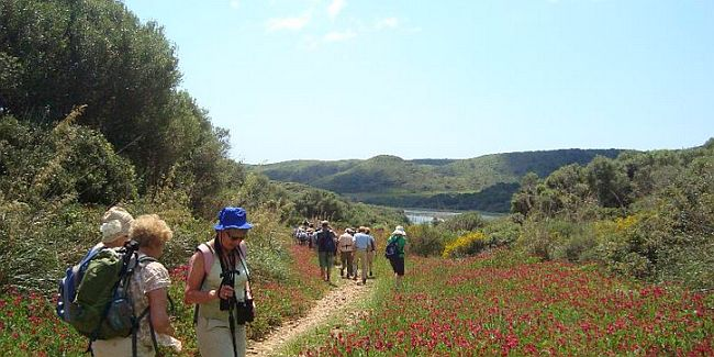 Walking on Menorca