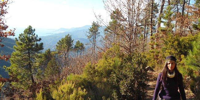 View on the Italian Riviera