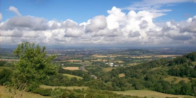 Landscape in Gloucestershire