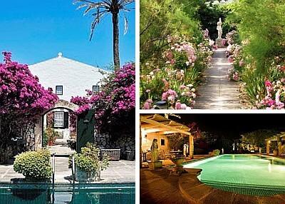hotel Binniarocca - swimming pool, garden, front garden