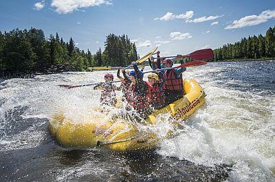 Rafting in Fulufjellet National Park