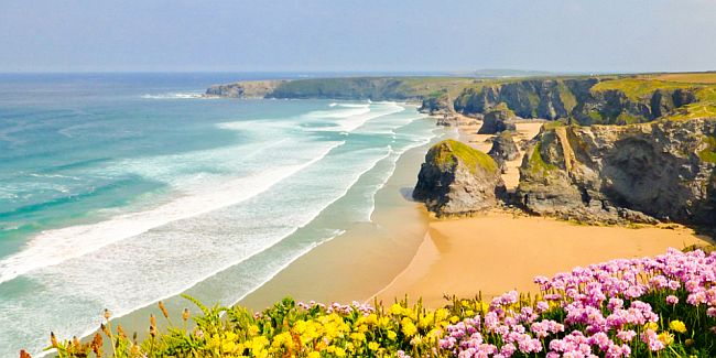 Walking along Cornwall's Magical Coastline