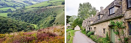 Exmoor and the Cotswolds