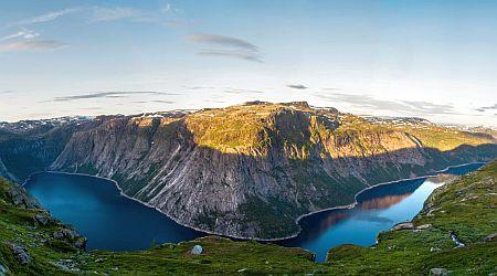 fjord lake in Norway