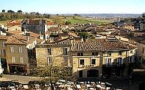 Village of Saint-Emilion in France