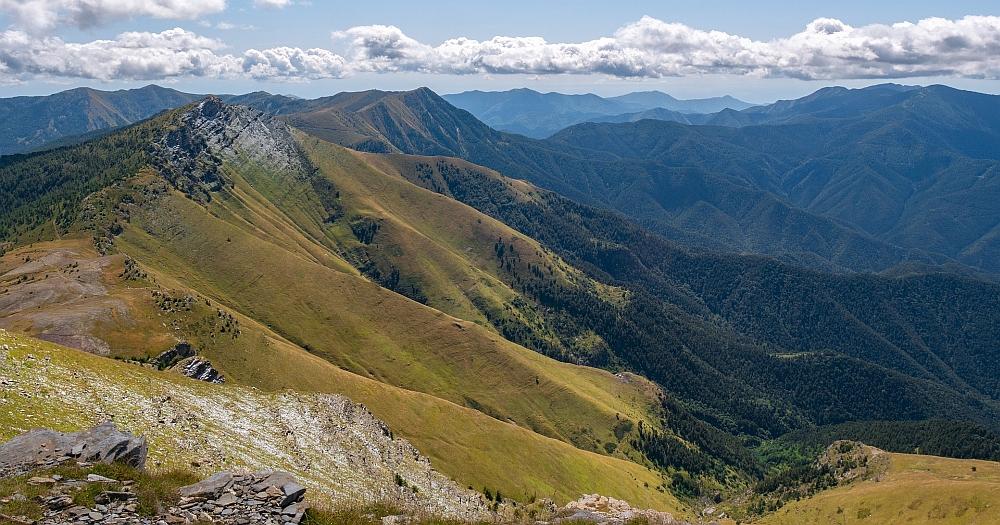 Mountains in Leguria