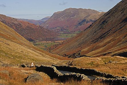autumn landscape in the Lake District