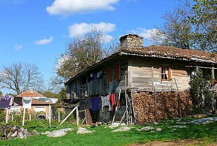 traditional house Strandja region