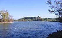 Lake in France