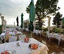 Hotel Vicko Starigrad Paklenica outside dining area