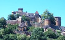 Hilltop village in the Dordogne