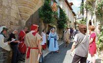 Street procession in the Dordogne