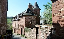 a lane in Collonges - Dordogne