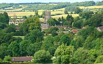 Mells village in somerset