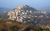 Hilltop village in the Tarn region