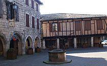 Medieval buildings in the Tarn