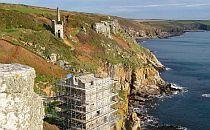 Historical heritage along the Cornwall coast.
