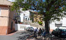 village square in Alicante