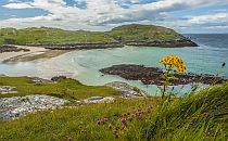 Stunning beach in Lochinver, Scotland