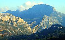 Bernia mountain range
