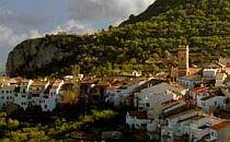 view on Tarbena village