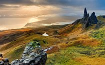 Stunning landskape on the Isle of Skye
