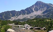 Beautiful view in Pirin mountain