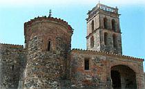 Tower of a Moorisch hilltop castle