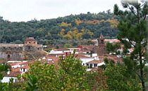 Looking out over one of the villages you'll be passing during this self-guided walking holiday in Spain
