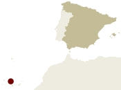 Map of Spain showing the location of the Amazing Tenerife – Spectacular Scenery, Magic Moments Guided walking holiday