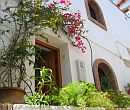 Entrance to holiday accommodation in of the Discover Andalucia self-guided walking holiday