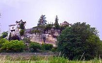 hilltop settlement in the Dordogne
