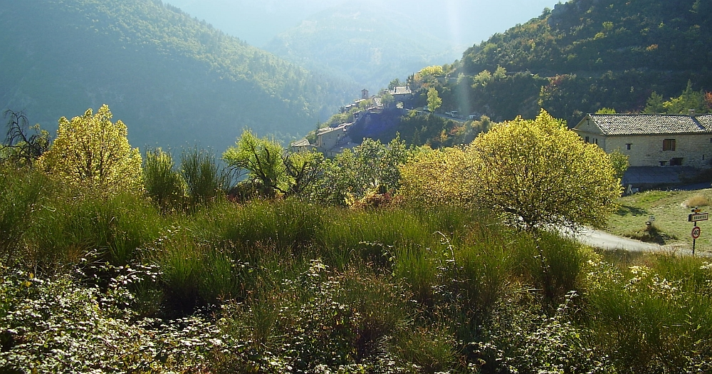 Mountain view of Provence