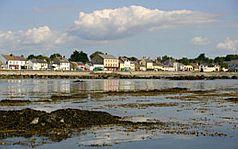 City on a shore