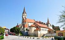 Church of Marija Bistrica in Croatia