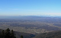 Zagreb seen from Sljeme mountain