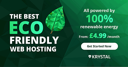 Kystal Eco Friendly Hosting