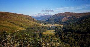 Beautiful landscape in Sutherland